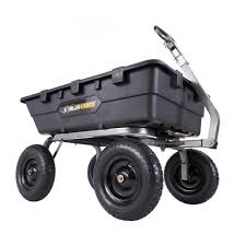 Wheelbarrows & Yard Carts Garden Tools The Home Depot