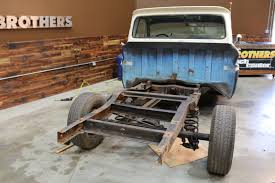 BROTHERS Project #Eighteen8 Build Photos - Chevy C10 - Brothers ...