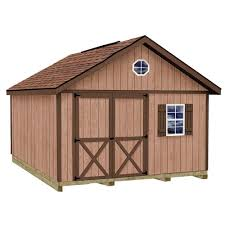12x24 Shed Floor Plans by Best Barns Wood Sheds Sheds The Home Depot