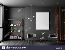 100 Minimalist Contemporary Interior Design Mock Up Poster Frame In Scandinavian Style Hipster Interior