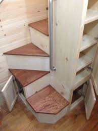 Interesting Stair Design Good Use Of Space And Storage Bear Creek Carpentry Companys Photo