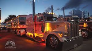 100 Rowe Truck Equipment Chicken Lights Chrome At The Super Rigs Truck Show YouTube