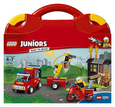 Amazon.com: LEGO Juniors Fire Patrol Suitcase 10740 Toy For 4-7-Year ... Lego City Fire Station 60110 Lets Build Youtube Creator Mini Truck 6911 Brick Radar Debuts New 1166piece Winter Village To Get You Lego Speed How The Firetruck Moc Littlebird Your Own Adventure Collections Up 56 Off Fire Truck Toys R Us Canada 10740 Juniors Patrol Suitcase Amazoncouk Airport Review Truthfulnerd Wooden Vehicle Cstruction Set Educational