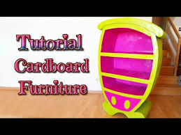 DIY crafts how to make a cardboard cartoon furniture handmade