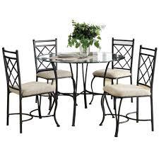 esszimmer möbel küche essecke set 5 stück metall glasplatte tischs tühle sets großhandel buy esszimmer runden tisch und stuhl sets küche essecke