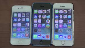 iPhone 5s vs 5c vs 4s Design Speeds & More