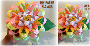 Diy Paper 3D Flower Crafts DIY Amazing Wedding Party Centerpiece Decor