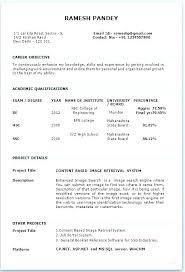 Resume Model Download Models Format For Experience Fresher Hr Executive I Hereby Declare That