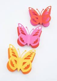 Papercut Butterfly Free Template