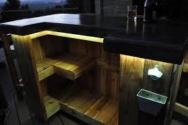 Cheap Patio Bar Ideas by Patio Bar Plans Concrete Counter And Cedar Base