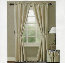 Allen Roth Curtains Alison Stripe by Polyester Striped Modern Curtains Drapes U0026 Valances Ebay