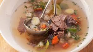 cuisiner paleron recette de bouillon de légumes au paleron l express styles