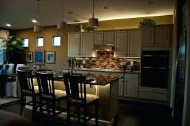 kitchen lighting lights for kitchen island with above
