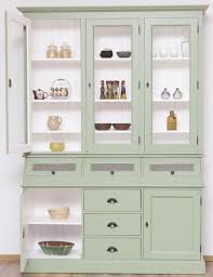 casa padrino landhausstil küchenschrank hellgrün weiß 164 x 50 x h 226 cm 2 teiliger massivholz esszimmer schrank landhausstil esszimmer möbel