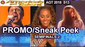 Agt 2018 Semi Final 2 Predictions