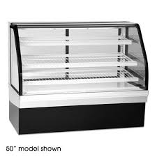 Federal Elements Ecgd 77 Curved Glass Non Refrigerated Bakery Display Case