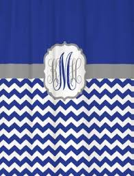 Royal Blue And Silver Bathroom Decor by Diy Fabric Shower Curtain Made From Two 84