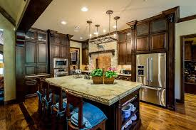 Kitchens With Dark Cabinets And Wood Floors by 35 Luxury Mediterranean Kitchens Design Ideas Designing Idea