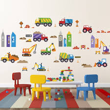 Amazon.com: City Construction Decorative Peel & Stick Wall Art ... Cars Wall Decals Best Vinyl Decal Monster Truck Garage Decor Cstruction For Boys Fire Truck Wall Decal Department Art Custom Sticker Dump Xxl Nursery Kids Rooms Boy Room Fire Xl Trucks Stickers Elitflat Plane Car Etsy Murals Theme Ideas Racing Art