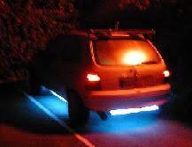 neon pour voiture exterieur les neons leds interdit ou non
