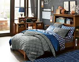 teenage guys bedroom ideas nfl bedding pbteen
