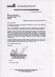 Carta Poder Simple Peru Para Recoger Documentos Apanageetcom
