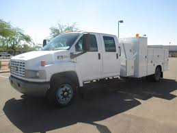 100 Kodiak Trucks USED 2005 CHEVROLET KODIAK C5500 SERVICE UTILITY TRUCK FOR SALE IN