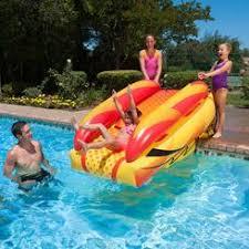 Fun Slide Inflatable Pool Slide