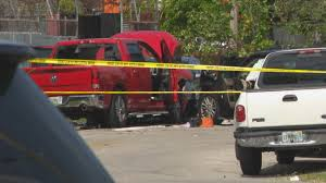 1 Killed In Miami Crash Involving Stolen Pickup Truck, Police Say Elk Point Mounties Say Truck On Fire Stolen From Local Company My California Man Arrested For Taking Joy Ride Stolen Truck Found Burned Out At Pawnee Lake 1041 The Blaze Lawn Equipment Worth More Than 6k In Sw Houston Custom Paraplegic Has Been Found Chase Volving Ends Atascosa County 10 Married Couple And Mother Driving Dump Kforcom Following Hit Run Crash Authorities Searching 18wheeler Harris Abc13com Owners Reunite With Christmas Eve Surveillance Footage Shows Pickup Crash Into City Councilors