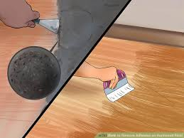Best Hardwood Floor Scraper by How To Remove Adhesive On Hardwood Floor With Pictures Wikihow