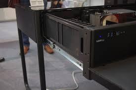 Lian Li Computer Desk by Computex 2014 Lian Li U0027s Dk 02x Chassis That Is Also A Desk