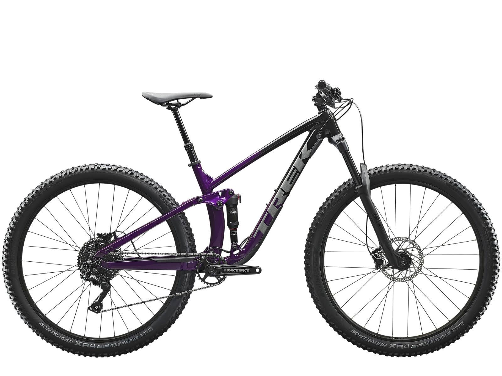 Trek 590348 Fuel EX 5 Road Bike - Black and Purple, 29""