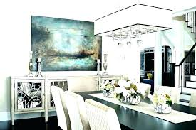 Transitional Dining Room Sets Dark Wood Mirrored Furniture