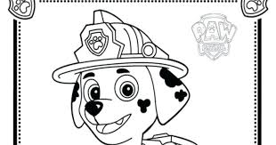 Paw Patrol Coloring Pictures And X To Make Cool Chase Skye Pages