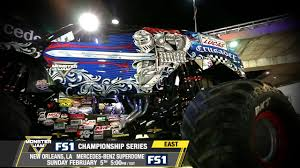 Monster Jam In New Orleans - Sunday February 5th On FS1 - YouTube For The First Time At Marlins Park Monster Jam Miami Discount Code Tickets And Game Schedules Goldstar Daves Gallery Sweden 1st Time Norway 2nd Atlantonsterjam28sunday010 Jester Truck Virginia Beach Monsters On May 810 2015 Edmton Alberta Castrol Raceway August 2426 2018 Laughlin Desert Classic Tv Show Airs On Nbc Sports Network This Mania Sunday 24 Jun Events Meltdown Summer Tour To Visit Powerful Ride Grave Digger Returns Toledo For Mizerany Family
