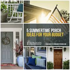 Five Summertime Porch Ideas For Any Budget