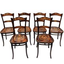 Art Nouveau Decorated Bentwood Dining Chairs From Thonet, Set Of Six ... Art Nouveau Ding Chairs In Alfreton Derbyshire Gumtree Set Of 6 Nouveau Carved Oak Ding Chairs Vinterior Of 4 4671a La70304 Quality Art Golden Oak High Slat Back 554 Antique Beauty Oaken Room Jugendstil Chair By Richard Riemerschmid Ars Design Dutch Mahogany Desk By Karel Sluyterman For Set 5 Four Early 20th Century Walnut Style Four Antique Art Nouveau Carved Ding Chairs 12 Arts Crafts Shapland Petter Antiques Atlas