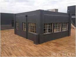 iron woods roof deck tile decking and pedestal system