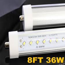 8pcs 8ft 36w 6500k led light fa8 single pin fluorescent