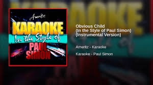 Johnny Horton Sink The Bismarck Karaoke by Obvious Child In The Style Of Paul Simon Instrumental Version