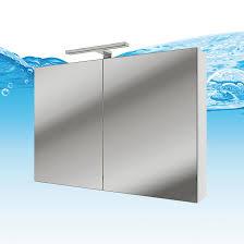 spiegelschrank badspiegel badezimmer spiegel gently 80cm weiß glänzend nein ohne led beleuchtung