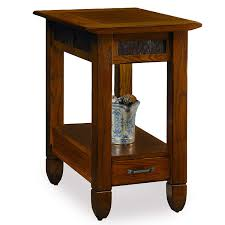 Amazon.com: Slatestone Oak Chairside End Table - Rustic Oak Finish ... Leick Delton Narrow Chairside End Table Fniture 10405 Amazoncom Boa Collection Solid Wood With Drawer The New Way Home Decor Easy Marion Ashley Homestore Slatestone Oak Rustic Finish Mission W 2 Open Shelves By Signature Design Sunny Designs Albany Chair Side With Door In Weathered Black 2019 Guest Room Huntley Espresso 15 14 Wide Accent Rattan Sofa Short Antique White Small Cottage Chaoal Gray Unique Ideas