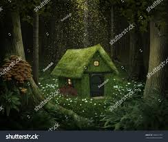 100 House In Forest Little Moss Enchanted 256251793