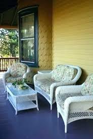 Retro Wicker Patio Furniture Vintage Rattan Porch Antique Outdoor
