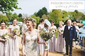 Elegant Rustic Wedding Bouquets Nude Bridesmaids Dresses Flower