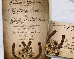 Sunflower Country Wedding Invitations Printable Rustic Summer Western Invites