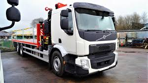 100 Gj Truck Sales 26000kgs VOLVO FE 350 Flatbed Alltruck Group