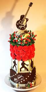 Elvis guitar Cake CakeCentral
