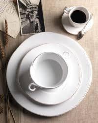 Rustic Italian Plates Dinnerware Sets Style Yet Chic Stoneware