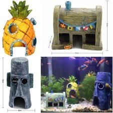 Spongebob Fish Tank Accessories by Spongebob Aquarium Ebay